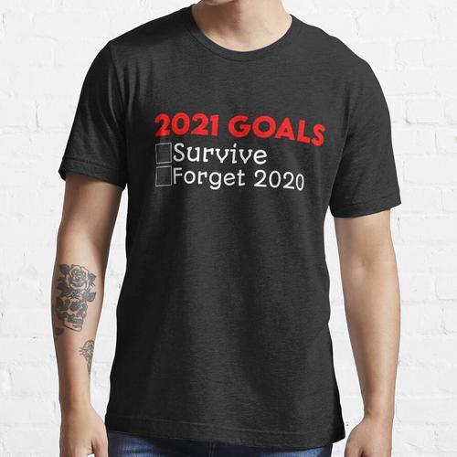2021 Tore Lustiger Silvester 2021 Silvester Essential T-Shirt