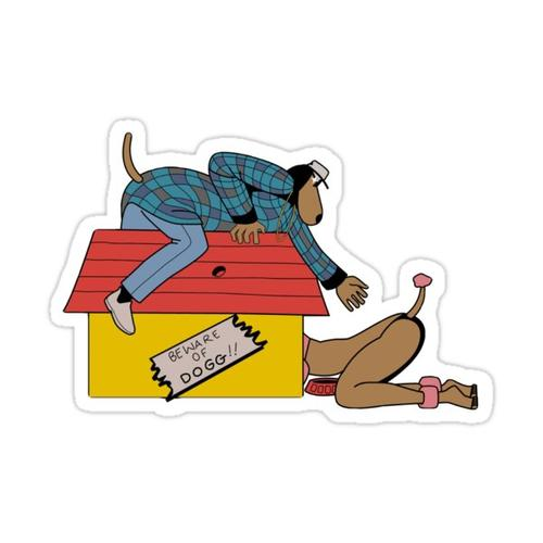 Hip Hop Sticker Sticker
