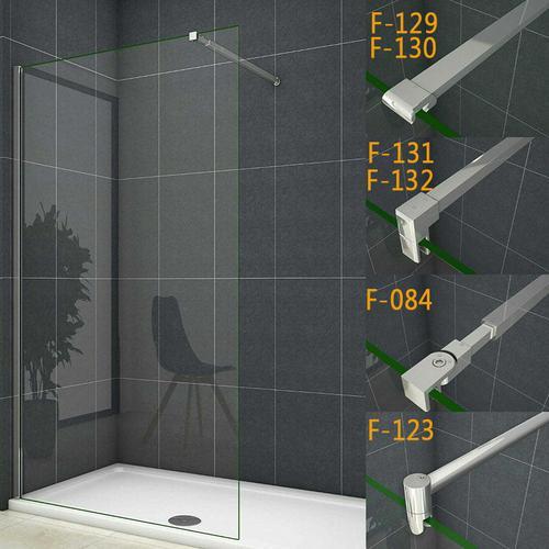 70x200cm walk in +90cm für 6-8mm Glas (F-129) Stabilisierungsstange