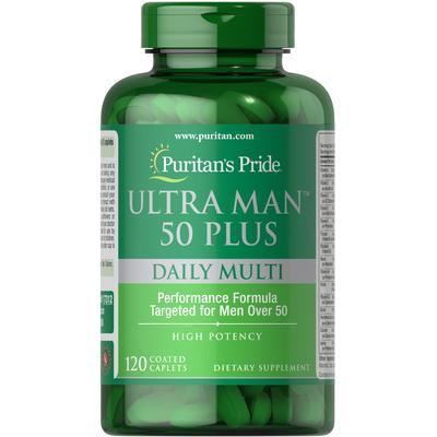 Puritan's Pride Ultra Man 50 Plus-120 Caplets