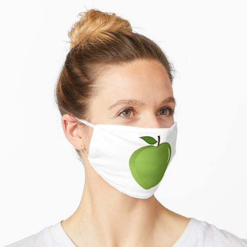 Leckerer und sehr leckerer Apfel Maske