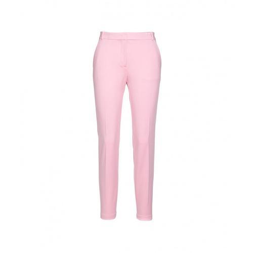 Pinko Damen Hose Bello Pink