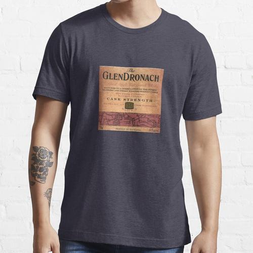 Vintage Glendronach Premium Whisky Essential T-Shirt