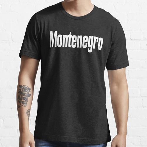 Montenegro Montenegrin Montenegro hat mich großgezogen Essential T-Shirt