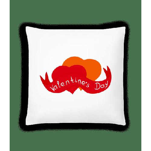 Valentinstag Logo - Kissen