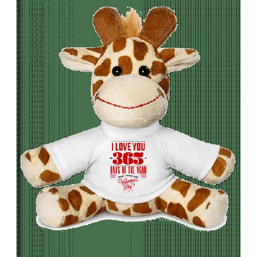 I Love You 365 Days Of The Year - Giraffe