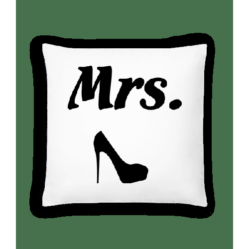 Mrs. Wedding - Kissen