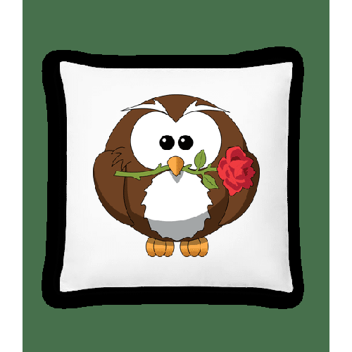 Valentinstag Eule - Kissen