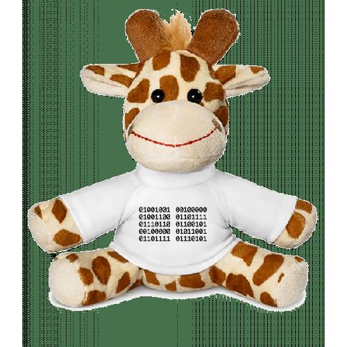 I Love You Code - Giraffe