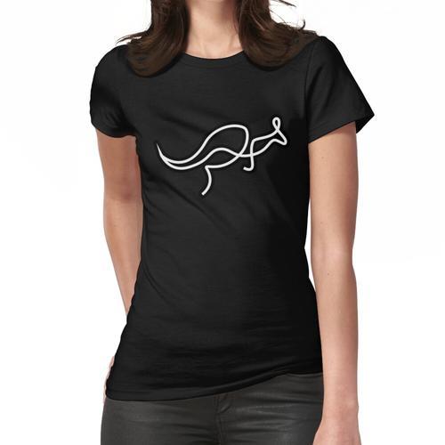 Känguru-Kangoo-Linie Frauen T-Shirt