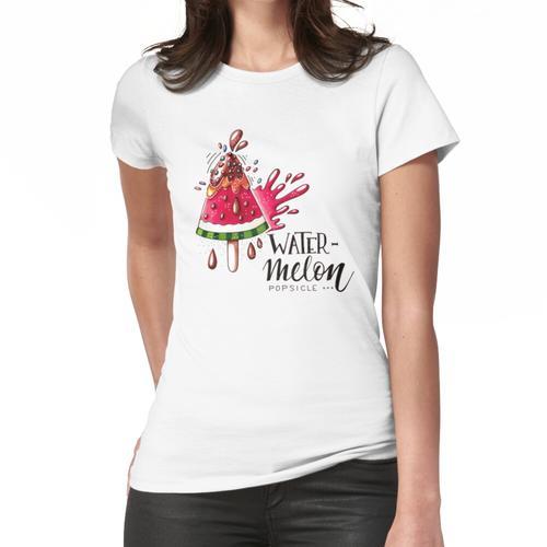 Wassermeloneneis am Stiel Frauen T-Shirt