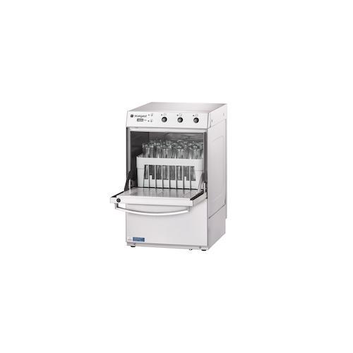 Stalgast Gläserspülmaschine Universal inkl. Klarspülmitteldosier-,Reinigerdosier- und Ablaufpumpe, 230V, 2,77 kW