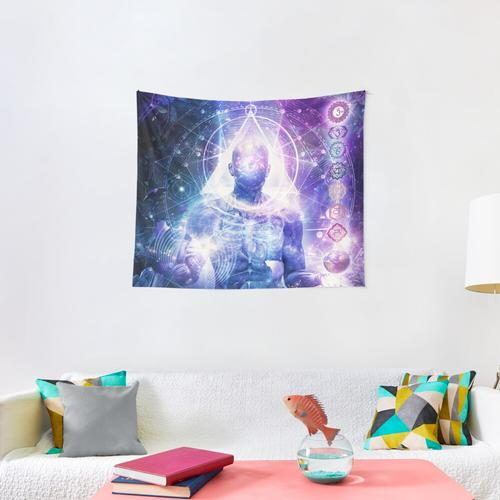 Mind Of Light Wall Tapestry