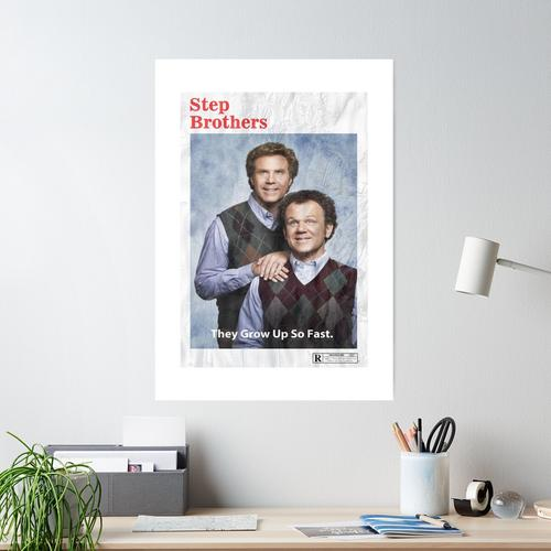 step brothers alternate movie poster Poster