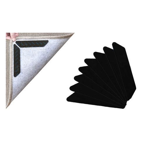 Anti-Rutsch-Teppichgreifer: Weiß / 8er-Set