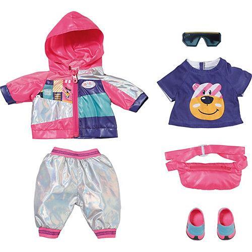 BABY born® Deluxe Fahrrad Outfit Set 43 cm bunt