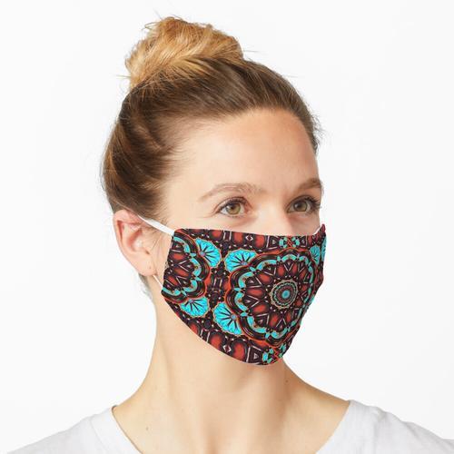 türkise Farbe Maske