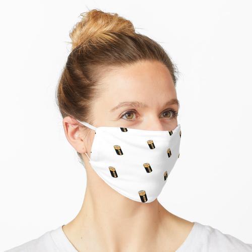 Batterie mit positiver Energie Maske