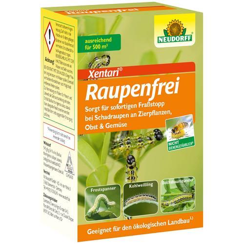 Neudorff Insektenvernichter Raupenfrei Xentari, 25 g bunt Insektenschutz Bauen Renovieren