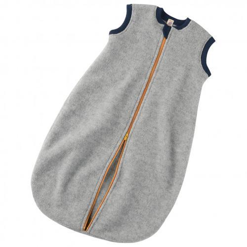 Engel - Baby-Schlafsack mit Reißverschluss - Kinderschlafsack Gr 74/80;86/92 74/80 Grau