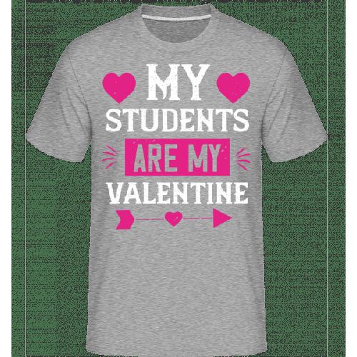 My Students Are My Valentine - Shirtinator Männer T-Shirt
