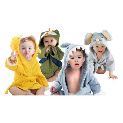 Bademantel für Babys: Maus / 2
