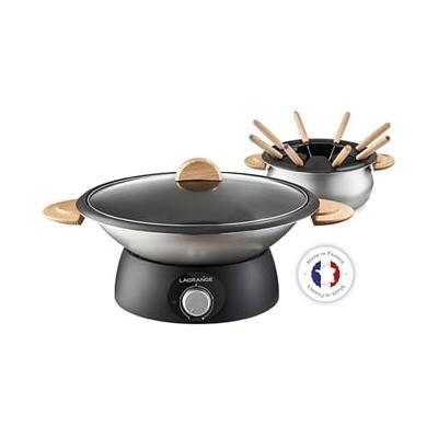 Wok et fondue classic 900 W 3490...