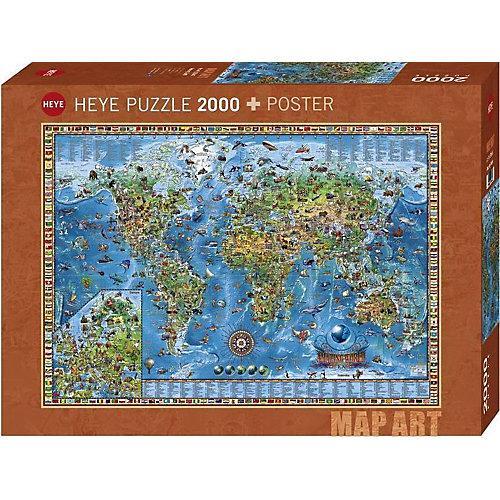 Puzzle Amazing World, 2000 Teile