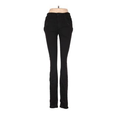 Joe's Jeans Jeans - Mid/Reg Rise: Black Bottoms - Size 28