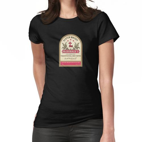 Premium McDonalds Scotch Whisky Frauen T-Shirt