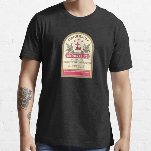 Premium McDonalds Scotch Whisky Essential T-Shirt