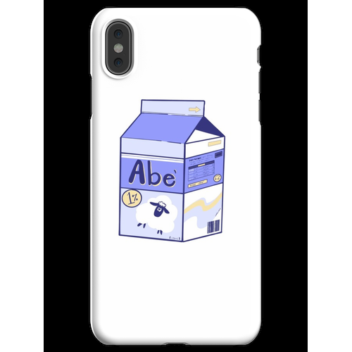 Dibe Abe - Schafsmilch iPhone XS Max Handyhülle