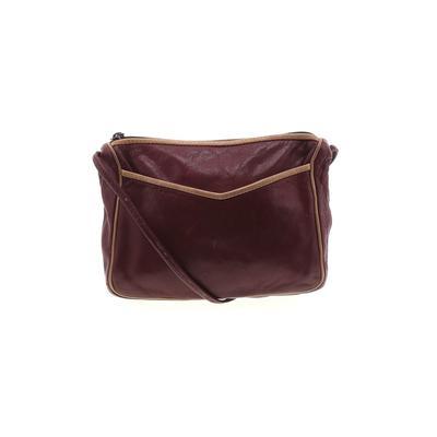 Assorted Brands - Assorted Brands Crossbody Bag: Burgundy Solid Bags