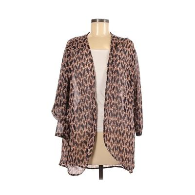 Gibson Kimono: Tan Tops - Size Medium