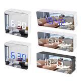 Nouveau LED Miroir Réveil avec V...