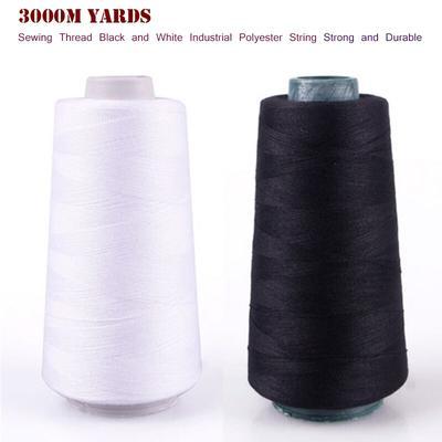 Fil de Polyester industriel pour Machine à coudre, 3000 Yards, accessoires pour vêtements, robustes