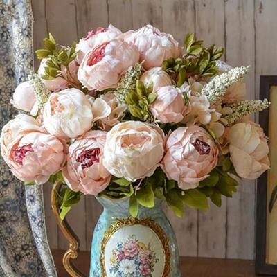 1 Bouquet de fleurs de pivoine a...