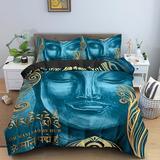Parure de lit style bouddha, ens...