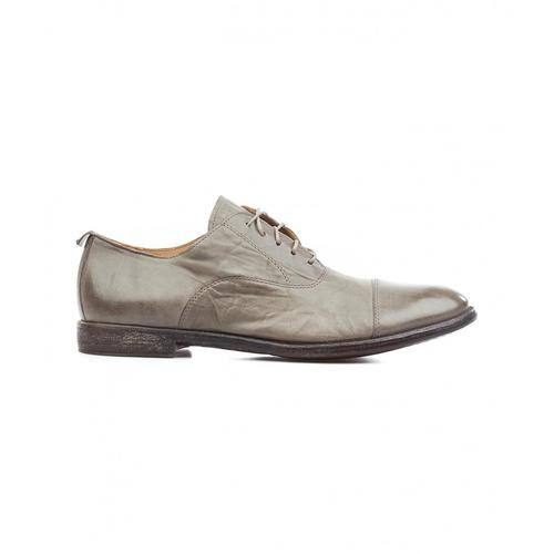 Moma Herren Schnürschuhe aus Leder Grau