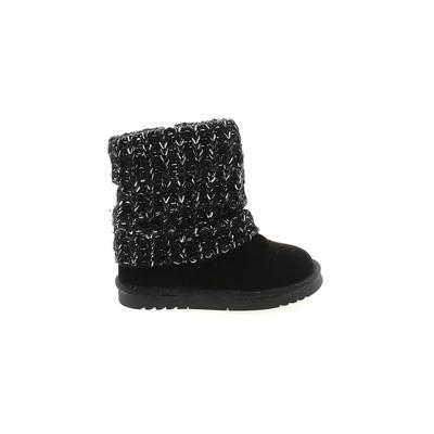 Jumping Beans Boots: Black Solid...