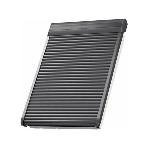 VELUX Elektro-Rollladen SML MK08 0000S Aluminium Dunkelgrau