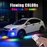 Banderole fluide RGB sous-carros...