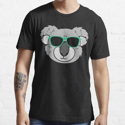 Koala-Shirt, Koala-T-Shirt, Koala-T-Shirt, Koala-T-Stück, Koalabär-Hemd, Koalaba Essential T-Shirt
