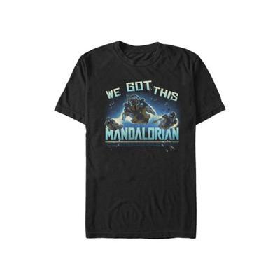 Star Wars The Mandalorian Black Star Wars The Mandalorian MandoMon Episode 3 Follow Graphic T-Shirt