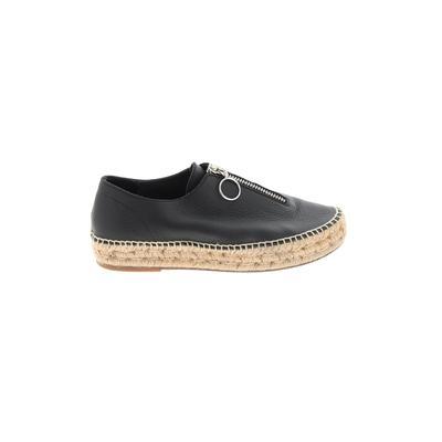 Alexander Wang Flats: Black Solid Shoes - Size 39