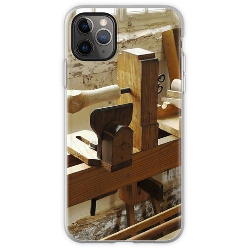 Holzdrehbank Flexible Hülle für iPhone 11 Pro Max