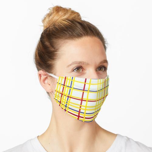MONDRIAN. New York City I, Piet Mondrian. Maske