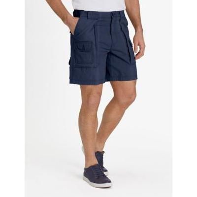 Men's Adjust-A-Band Relaxed-Fit Cargo Shorts, Navy Blue 48