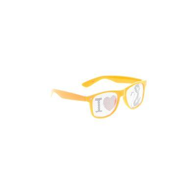 Sunglasses: Orange Solid Accesso...