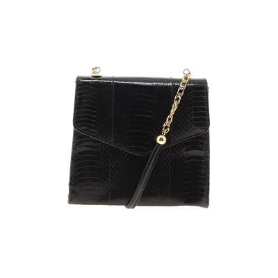 Fashion Influences - Fashion Influences Crossbody Bag: Black Solid Bags